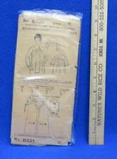 Pictorial Review Nightgown Woman Ladies High Neck Sewing Pattern Size 46 Vintage