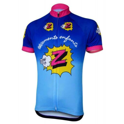 Team Z Vetements Enfants Retro Cycling Jersey cycling Short Sleeve Jersey