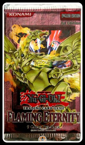 Yu-Gi-Oh Sealed Booster **GamerzSphere** Flaming Eternity 1st Edition