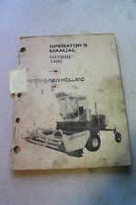 New Holland 1495 Haybine Operators Manual