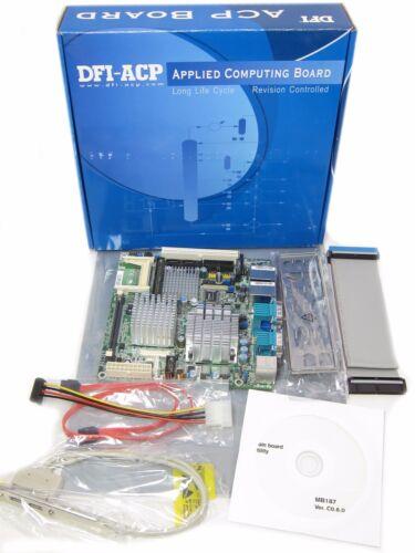 Core 2 CPU DFI G5C100-N10C G5C102-073GmPGA478A Intel Mini-ITX Motherboard