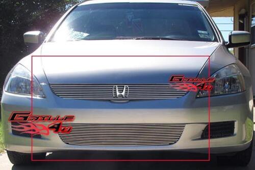 Fits 06-07 Honda Accord 2 Door Coupe Billet Grille Combo