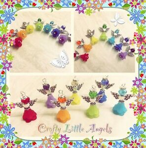 Angel-Charms-Pendants-Multicoloured-Pack-Of-14