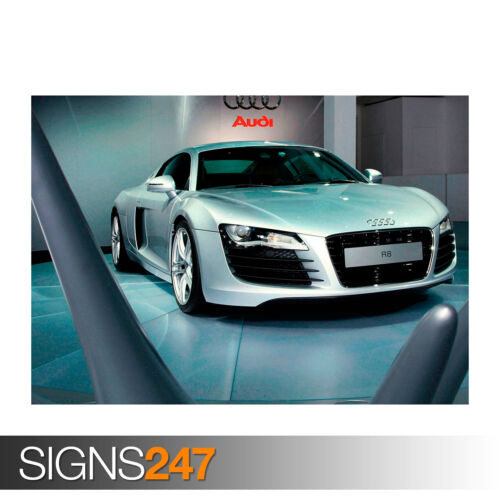 AUDI R8 0738 Car Poster Photo Picture Poster Print Art A0 A1 A2 A3 A4