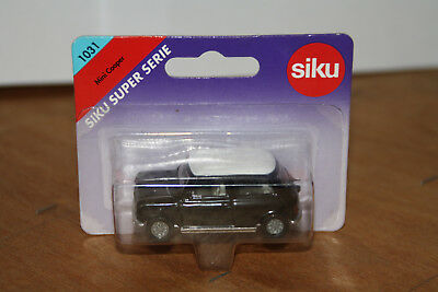 Siku 1031 Mini Cooper Schwarz Weisses Dach Orig Verpackt Up-To-Date-Styling