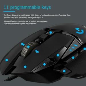 Logitech G502 Hero 16K Gaming Mouse Programmable 100