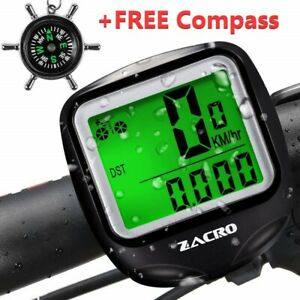 ZACRO-Bike-Computer-Original-Wireless-Bicycle-Speedometer-with-Compass-Key-Ring