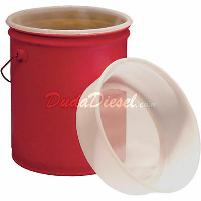 Lot of 5 x 5 Gallon EZ strainers Bucket Pail Filter Biodiesel Paint Oil Water