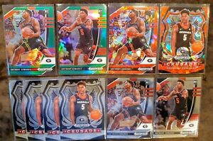 2020-21-Prizm-Draft-Anthony-Edwards-Rookie-Lot-10-Red-Cracked-Ice-Green