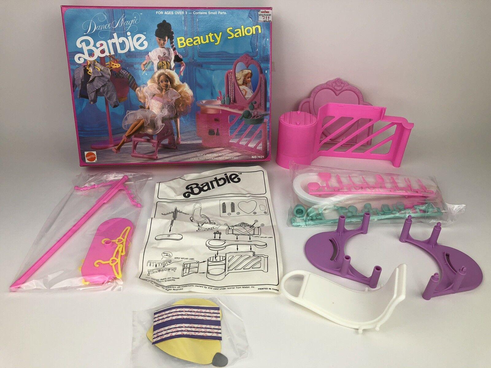 Nuevo 1991 Dance Magic Barbie Salón De Belleza
