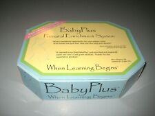 Babyplus Prenatal Enrichment System When Learning Beginslifetime Development
