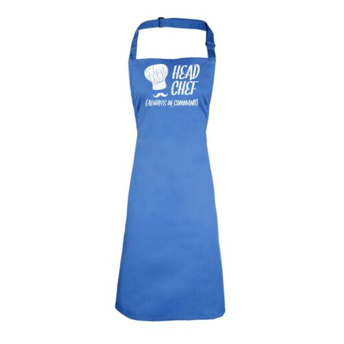 Head Chef Always In Command Cooking Kitchen Apron Kitchen Cooking
