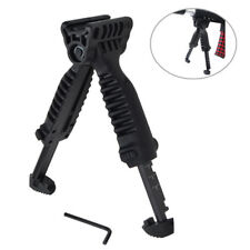 Foldable Tactical Bipod Foregrip Grip Swivel Picatinny Rail Rifle Mount