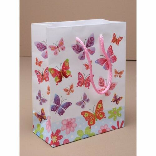 New GLOSSY Gift Bags Different designs sizes to choose TRUSTED UK SELLER