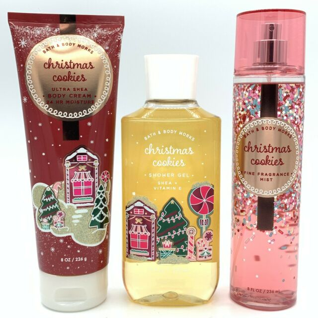 Dent Bath & Body Works Christmas Cookies Fragrance Mist 8 Oz See PICS for sale online   eBay