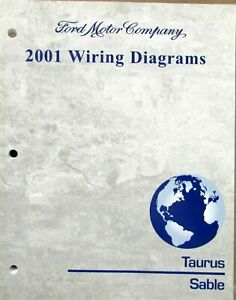 2001 Ford Mercury Dealer Electrical Wiring Diagram Service ...