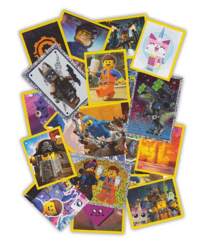 Blue Ocean-The Lego Movie 2-50 sticker sin dobles incluyendo holosticker
