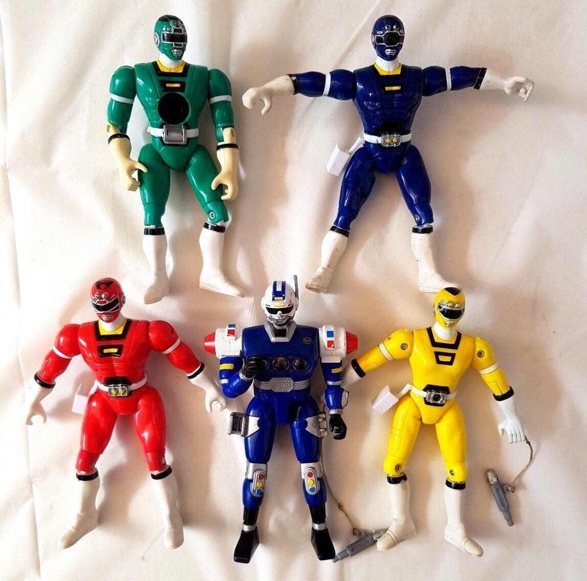 Turbo Power Rangers Bandai Action Figure Bundle 1997