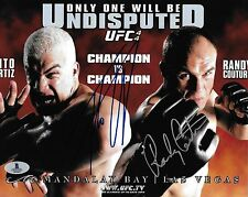 Tito Ortiz Randy Couture Signed UFC 44 8x10 Photo BAS Beckett COA Poster Picture