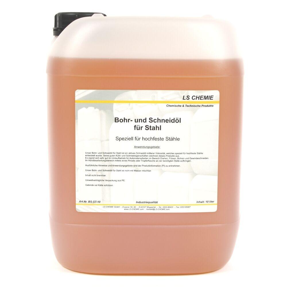 10 Liter Bohr- und Schneidöl für hochfesten Stahl