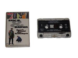 ERIC B. & RAKIM DON'T SWEAT THE TECHNIQUE CASSETTE TAPE 1992 MCA MCAC-10594