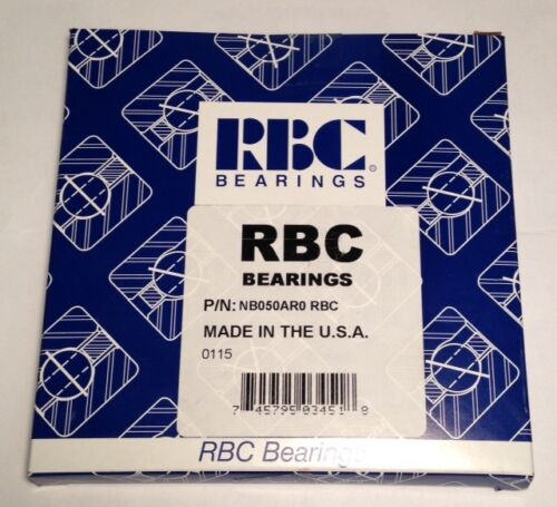 "NEW RBC Bearings NB050AR0 KB050AR0 5/"" x 5-5//8 x 5//16 Thin Section Bearing"