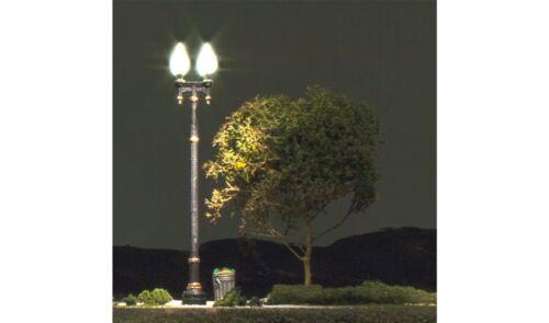 Woodland Scenics JP5640 Double Lamp Post Street Lights N gauge
