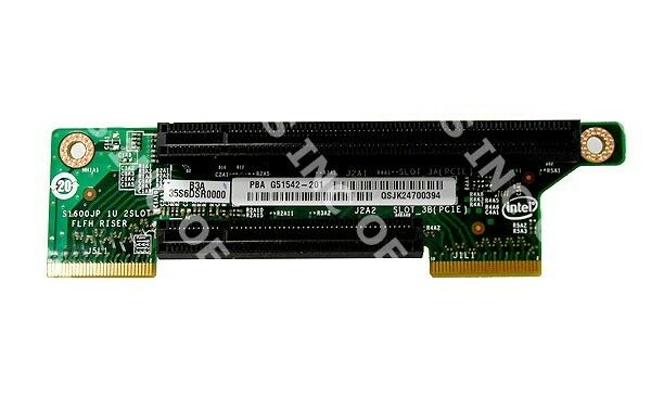 Intel F1UJP2X8RISER 1U PCI Express 2x8  Slot3 Riser Card For R1000JP Family Pull