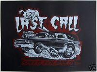 Last Call Hearst Hot Rod Poster Art Rob Kruse Roth Like Kustom Kulture