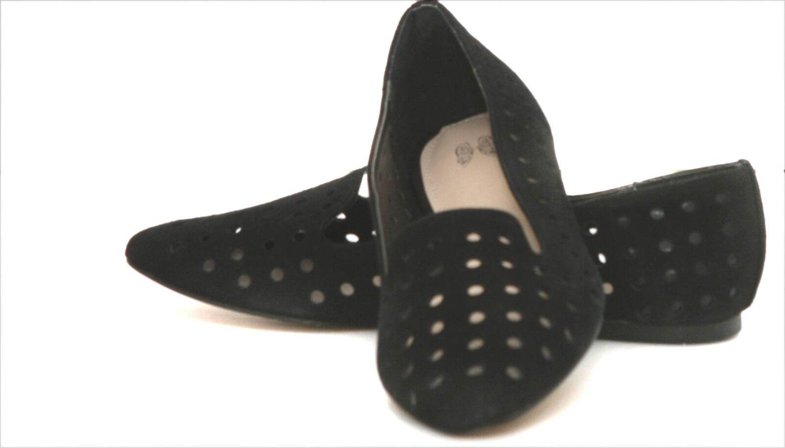 New Victoria's Secret  Pointed-toe Flat suede women's shoes sz  7