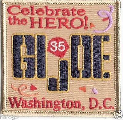 GI JOE 1999 CONVENTION PATCH - JOE10