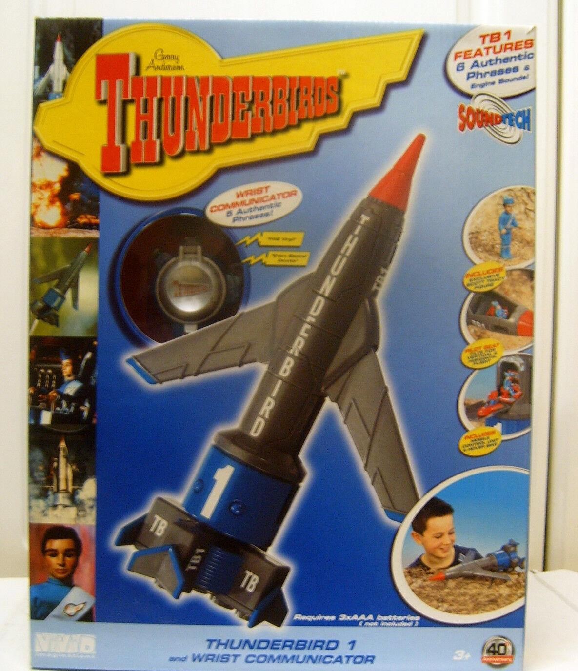 5 4 3 2 1 RARE SPECIAL 40TH ANNIVERSARY SUPERGröße THUNDERBIRD 1 + COMMUNICATOR