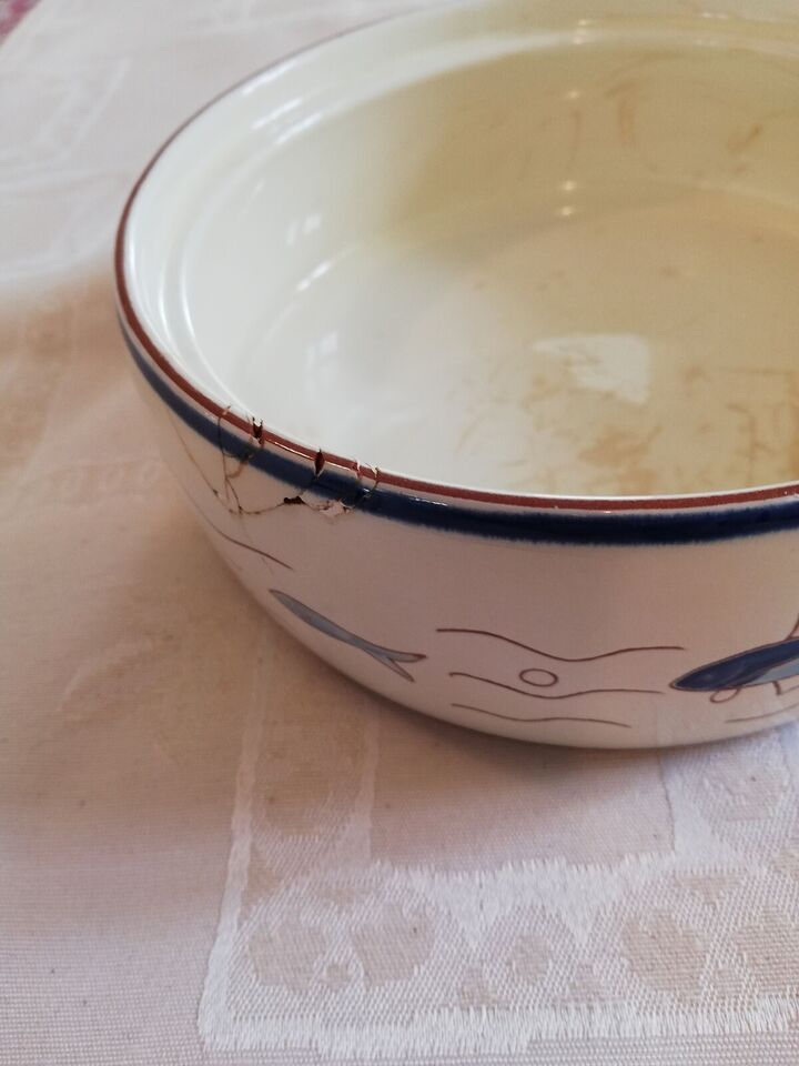 Stentøj, Sildetallerkner og serverings skål