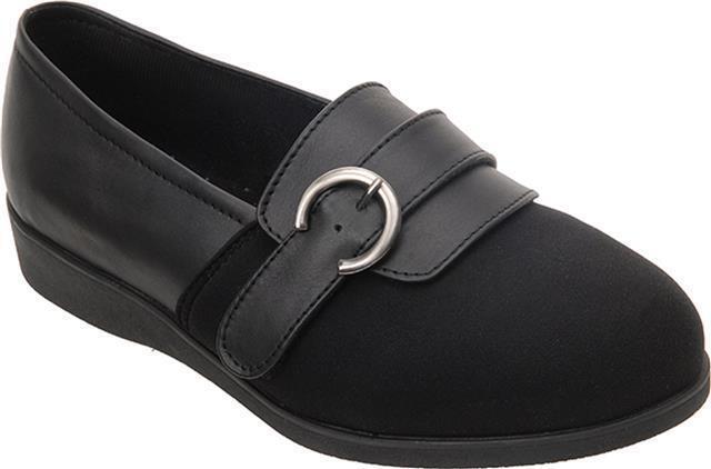 Cosyfeet Extra Spacieux Becki Femmes Chaussure à Enfiler 4 Couleurs 6E Pour