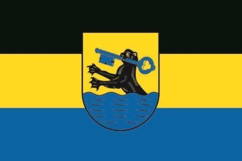 Fahne Flagge Wiesbaden OT Biebrich 80 x 120 cm Bootsflagge Premiumqualität