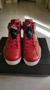 a09d9dec63a Nike Jordan Retro 6 VI Spizike HISTORY OF JORDAN RED WHITE Size 11 ...