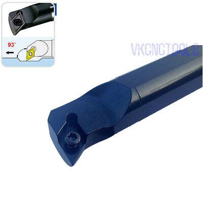 S10K-SDQCR07 Internal Lathe Boring Bar Turning Tool for DCMT0702 10mmSHK×125mm