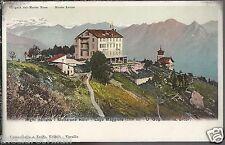 Giogaia del Monte Rosa Monte Leone Righi Italiano Mottarone Hotel Lago Maggiore