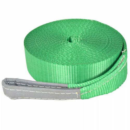 vidaXL Slackline 15 m x 50 mm 150 kg Verde Corda Fune Allenamento Equilibrio