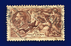 1934-SG450-2s6d-Chocolate-Brown-N73-1-Good-Used-Cat-40-cqbl