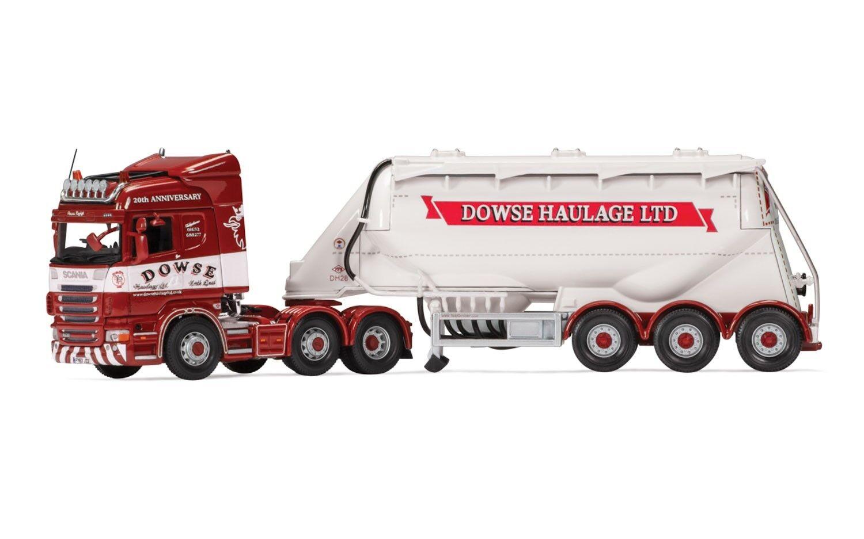 CC13769 CORGI Scania  Highline Feldbinder citerne Dowse transport Diecast HGV Modèle  à la mode
