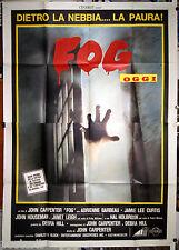 manifesto 4F originale THE FOG John Carpenter Jamie-Lee Curtis 1980