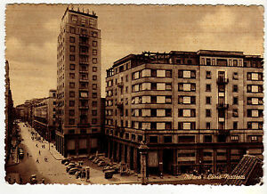 1953-Milano-CORSO-MATTEOTTI-Giornata-delle-forze-armate-10-Lire