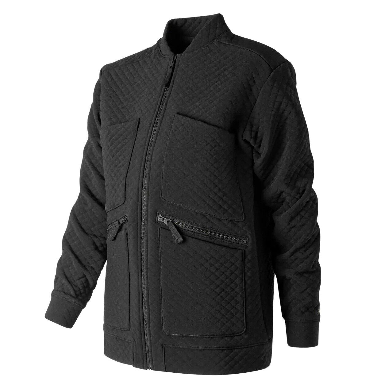 New Balance Womens Heatloft Jacket Black Quilted Size S NWT