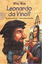 Who Was?: Who Was Leonardo da Vinci? by Who HQ and Roberta Edwards (2005, Paperback)