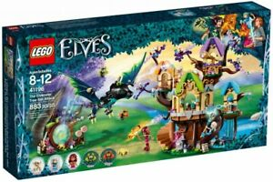 Lego-Elves-The-Elvenstar-Tree-Bat-Attack-41196-Building-Kit-883-Pcs