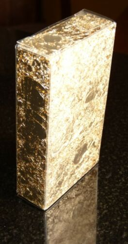 5 Grams Gold Leaf Flake in a Clear Plastic Box - Huge Beautiful Flakes