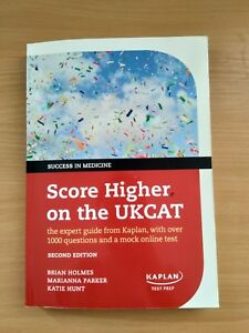 Details about LIKE NEW Kaplan Score Higher on the UKCAT: The Expert Guide   Over 1000 Questions