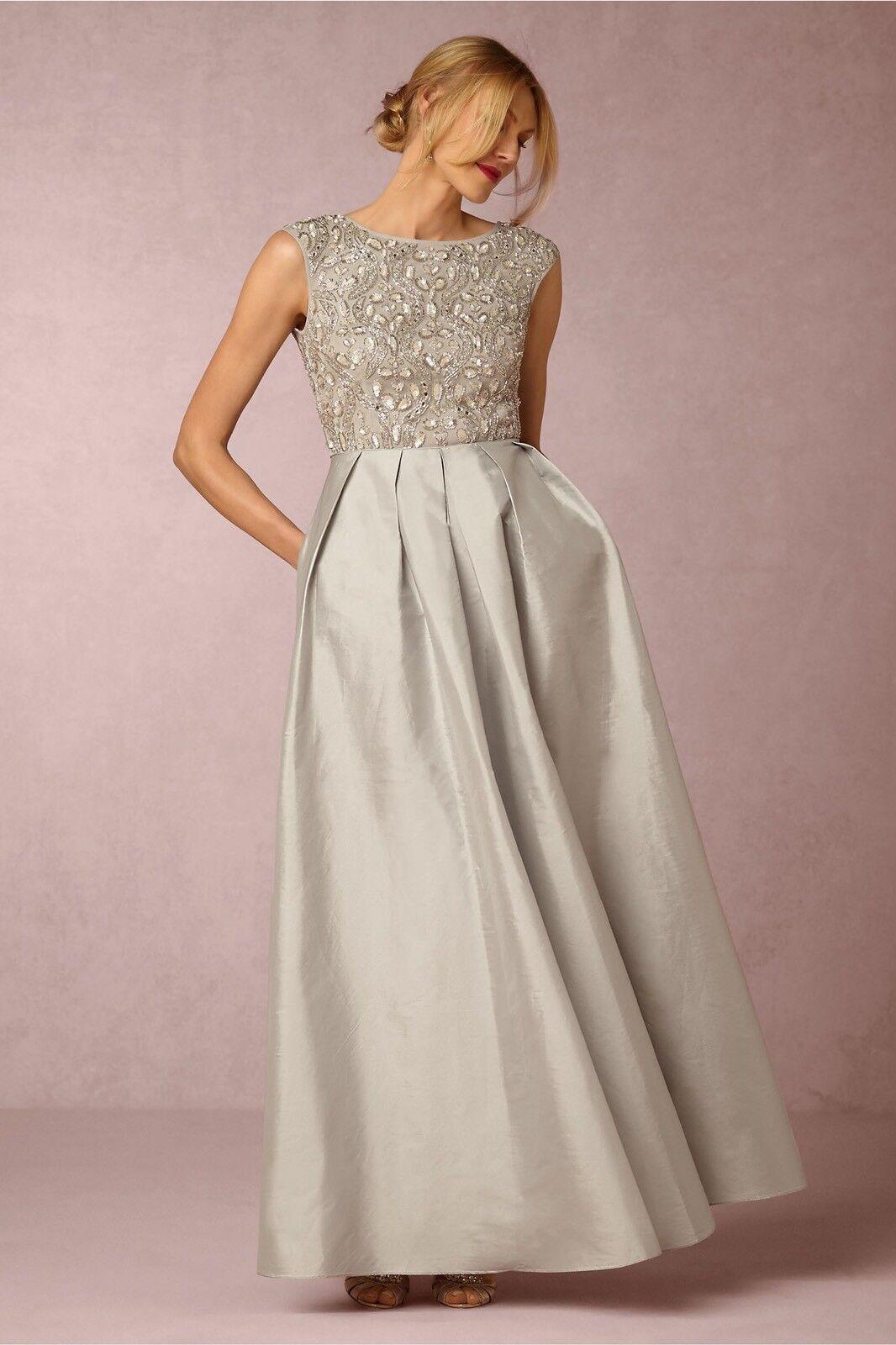 BHLDN  Aidan Mattox Sansa Vestido Talla 2 Nuevo precio minorista sugerido por el fabricante  450  Los mejores precios y los estilos más frescos.