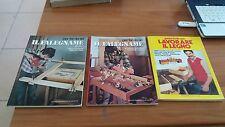 il falegname - 3 riviste manuali per far da se - 10 euro -